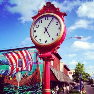 Check out the cute little Scandanavian Villiage of Poulsbo, WA... It beats Leavenworth, WA any day!